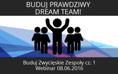 Buduj prawdziwy Dream Team