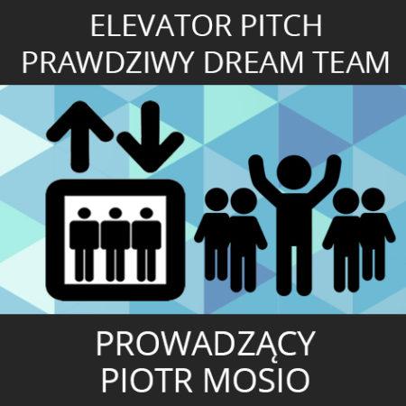 Pakiet Elevator Pitch + Buduj Prawdziwy Dream Team