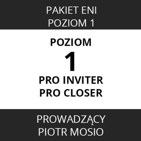 Pakiet ENI – Poziom 1